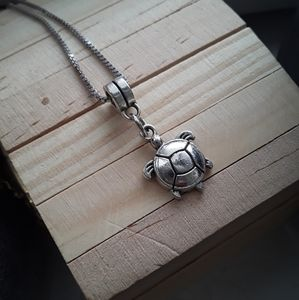 Sea Turtle Charm Necklace